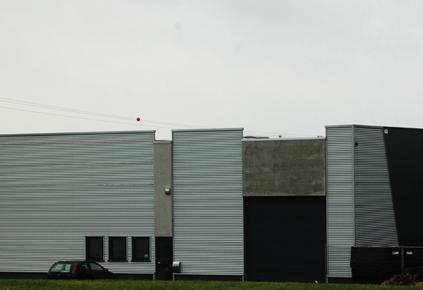 Espace architecture b timent industriel for Architecte batiment industriel